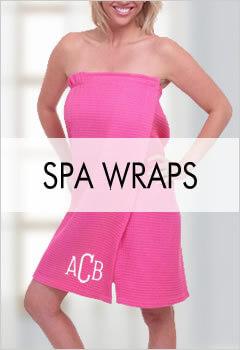 Bridesmaid Spa Wraps