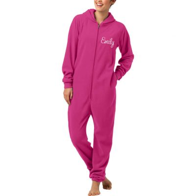 Adult Onesie Lounger with Embroidered Name