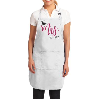 """The Mrs."" Bride Apron"