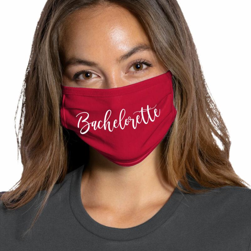 """""""Bachelorette"""" Face Mask"""