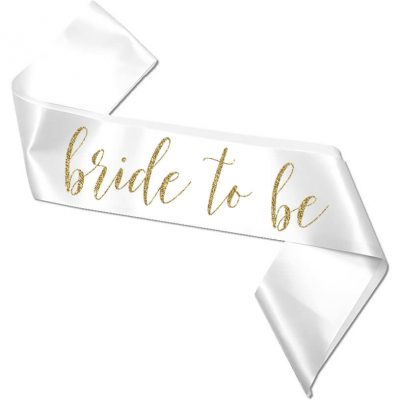 """Bride to be"" Bachelorette Sash"