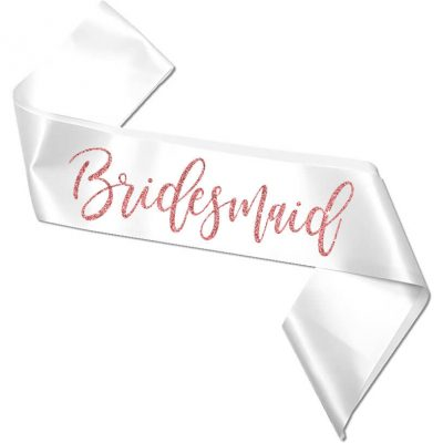 Bridal Party Bachelorette Sash