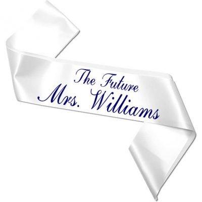 """The Future Mrs."" Bachelorette Sash"