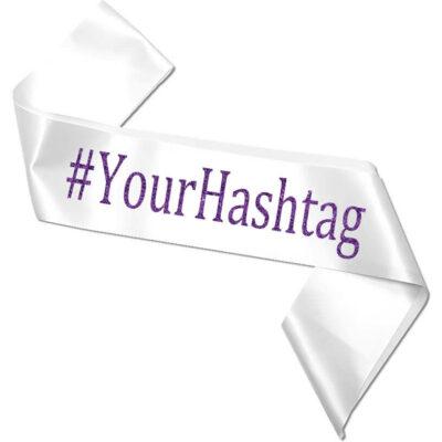 Hashtag Bachelorette Sash