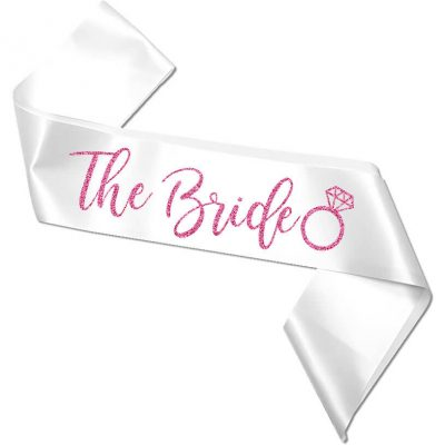 """The Bride"" Bachelorette Sash"