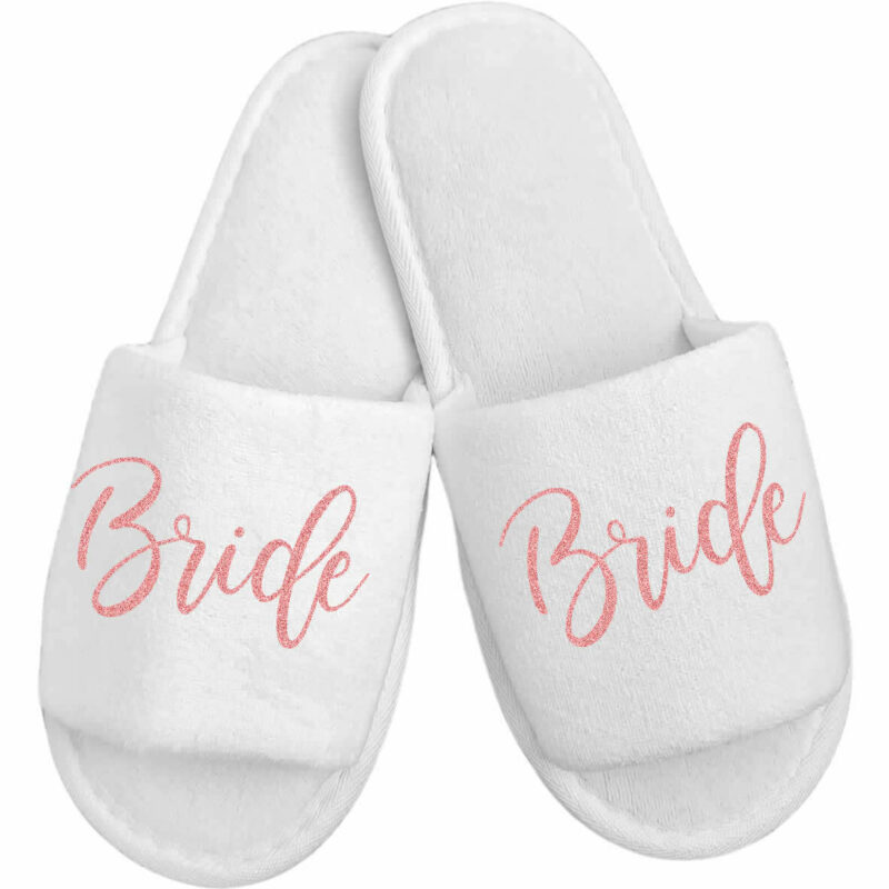Budget Bride Slippers