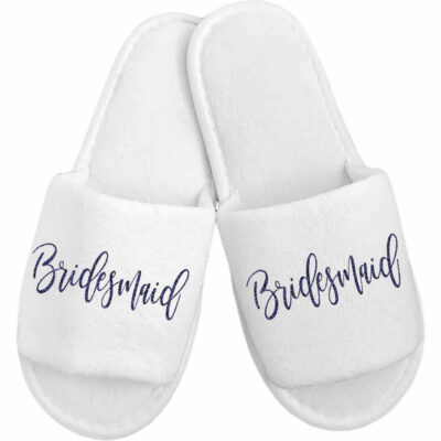 Budget Bridesmaid Slippers