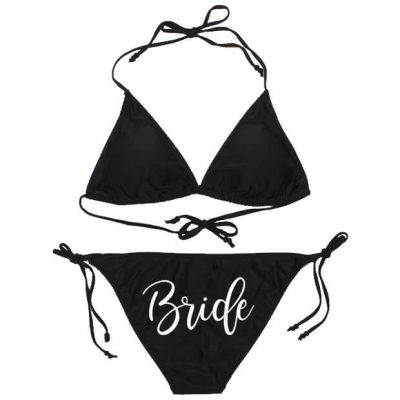 Personalized Bride Bikini