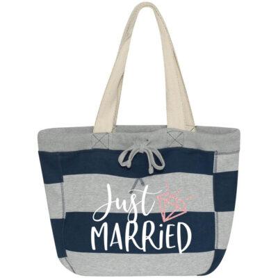 """""""Just Married"""" Sweatshirt Bag"""