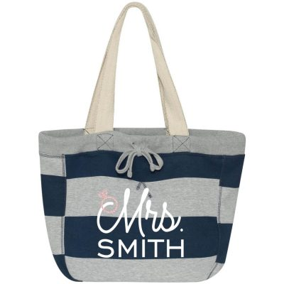 """Mrs."" Sweatshirt Bag"