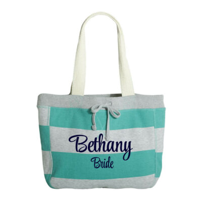 Bride Sweatshirt Bag with Name
