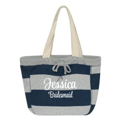 Bridal Party Sweatshirt Bag with Name
