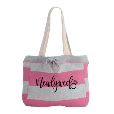 """Newlywed"" Sweatshirt Bag"