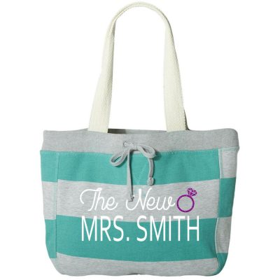 """The New Mrs."" Sweatshirt Bag"