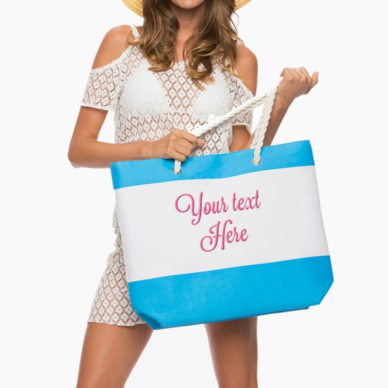 Create Your Own Beach Bag with Rope Handles