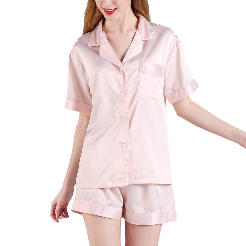 Button-up Bridal Party Pajama Set - Blank