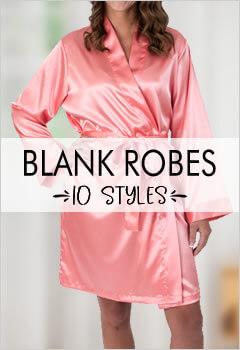 Blank Bridesmaid Robes