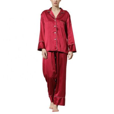 Button-up Bridal Party Pajama Pant Set - Blank