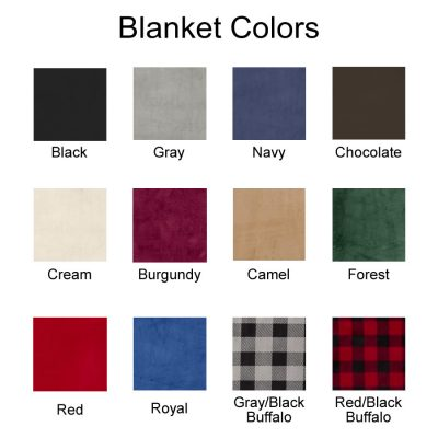 Blanket Color Chart