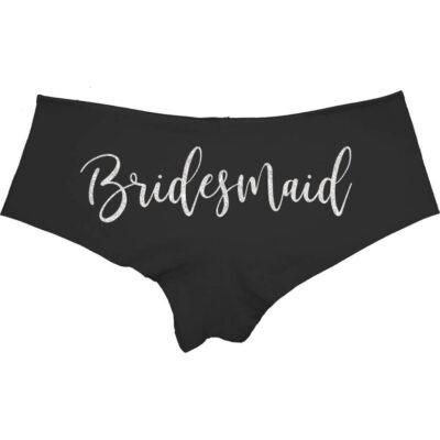 Bridesmaid Boyshorts (Back)