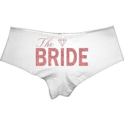 """""""The Bride"""" Boyshorts (Back)"""
