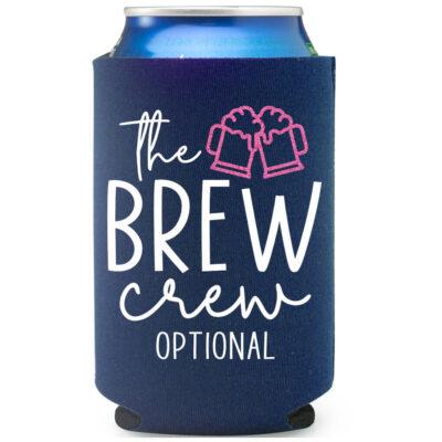 """""""Brew Crew"""" Koozie"""