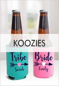 Bridal Party Koozies