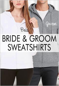 Bride & Groom Hoodie Sets