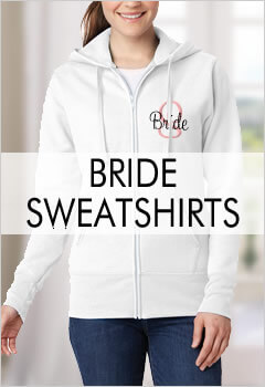Personalized Bride Hoodies