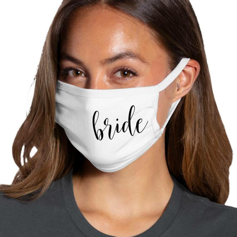 Bride Face Mask - Side