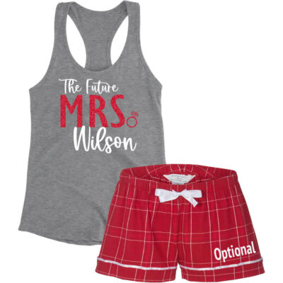 """The Future Mrs."" Bride Pajama Set"