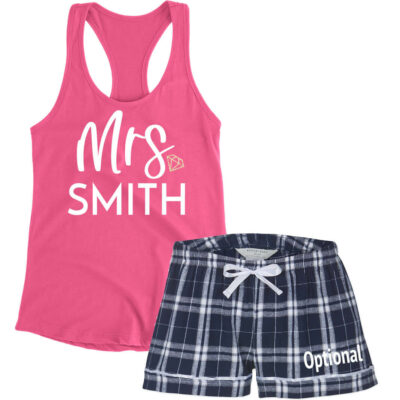"""Mrs."" Bride Pajama Set"