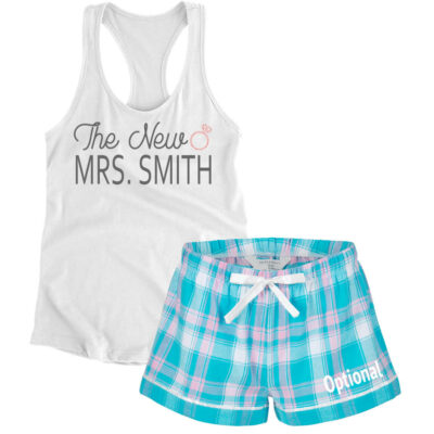 """The New Mrs."" Bride Pajama Set"
