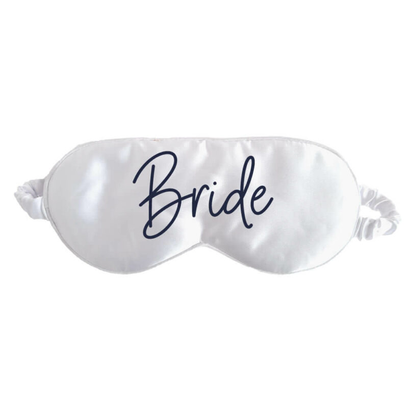 Bride Sleep Mask