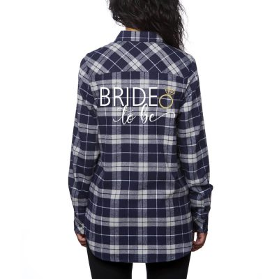 """Bride to be"" Flannel Shirt"