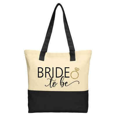 """Bride to be"" 2-Tone Tote Bag"