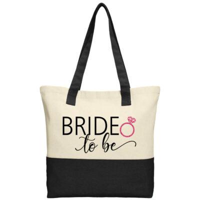 """Bride to be"" 2-Tone Tote Bag"