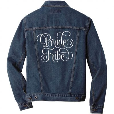 "Embroidered ""Bride Tribe"" Jean Jacket"