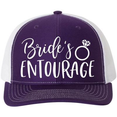Bride's Entourage Hat