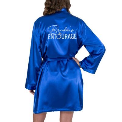 """""""Bride's Entourage"""" Satin Robe"""