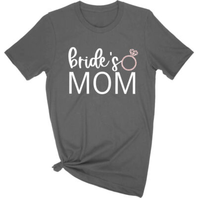 """Bride's Mom"" T-Shirt with Ring"