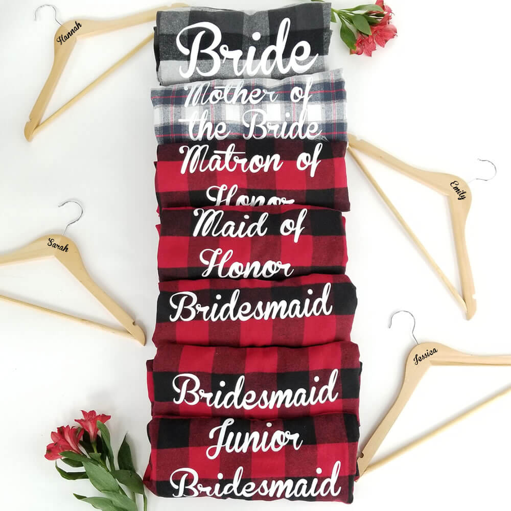 Bridesmaid Flannels