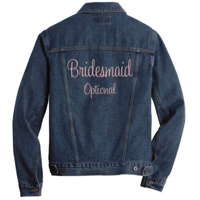 Embroidered Bridesmaid Jean Jacket