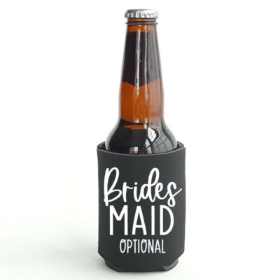 Personalized Bridal Party Koozie