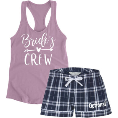 """Bride's Crew"" Pajama Set"