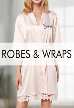 Personalized Bride & Bridesmaid Robes