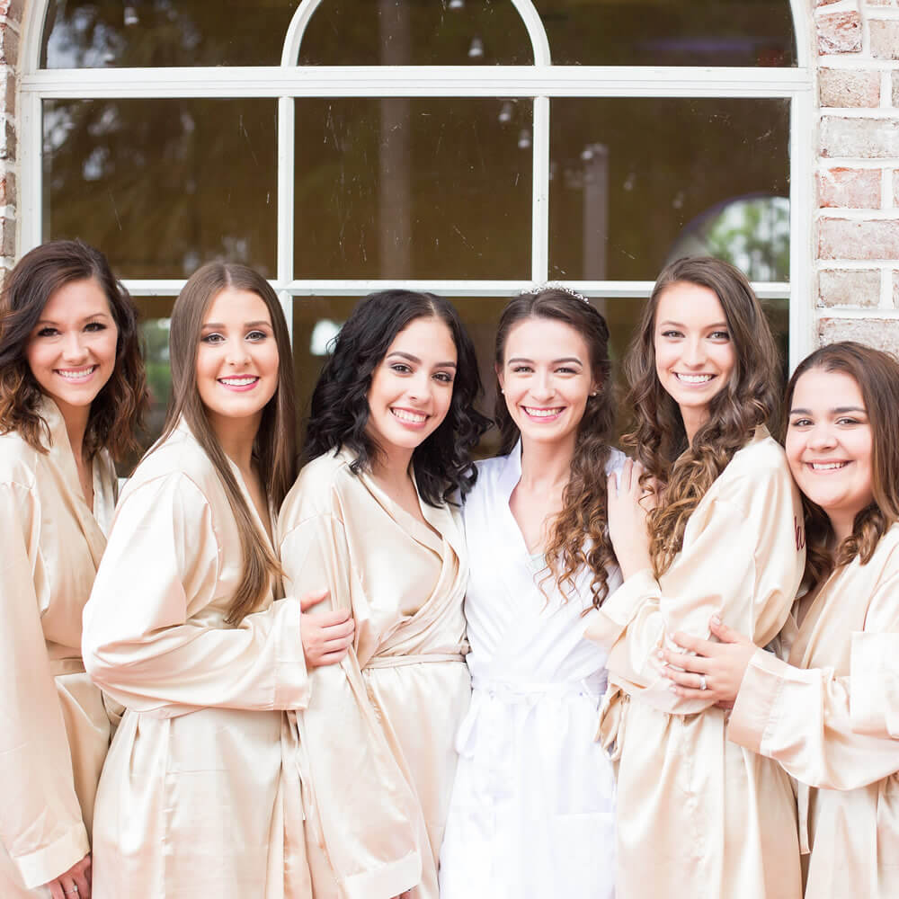 Bride and Bridesmaid Robes