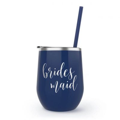 Bridal Party Stainless Steel Wine Tumbler