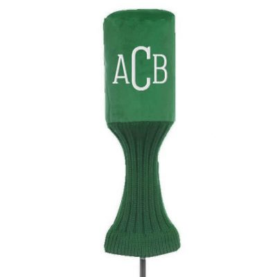 Monogrammed Golf Club Cover