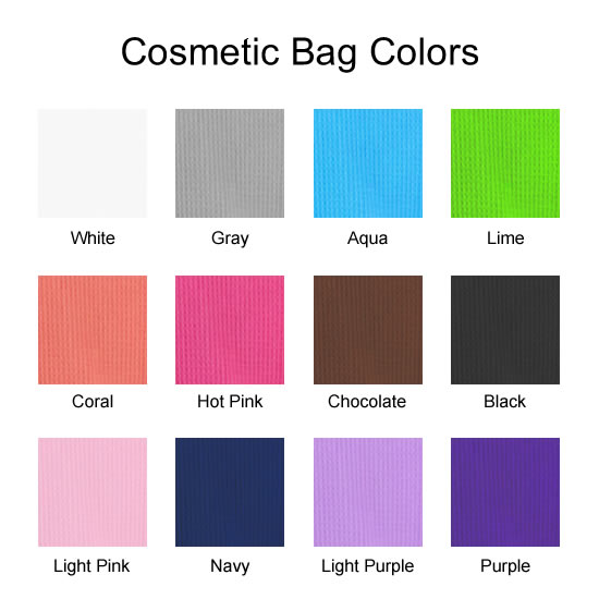 Cosmetic Bag Colors